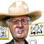 Pat Oliphant, Still Drawing Sharp Political Satire at Age 78