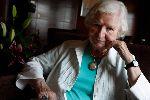 Writer P.D. James, 94
