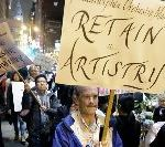 Philadelphia Orchestra Musicians Walk Out On Strike As Gala Audience Waited