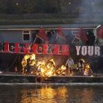 The Punk Ethos Doesn't Die: A Public Fire Consumes Punk Memorabilia