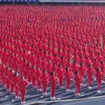 50,000 Chinese Break Record For Simultaneous Coordinated Dancing