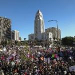 How Los Angeles' Immense Women's March Showed (Off) City Planning In Entirely New Ways
