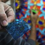 Inside The Stained Glass Workshop At Jerusalem's Al-Aqsa Mosque