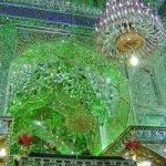 See The Shimmering Walls Of Iran's 'Emerald Mosque'