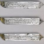 These 16th-Century Table Knives Have Music For Saying Grace Engraved On Their Blades