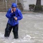Why Do TV Reporters Stand Outdoors In A Dangerous Hurricane?