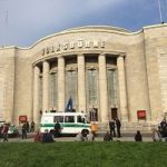 'Dust To Glitter' Occupation Of Berlin Theater Ends As Police Escort Activists Away