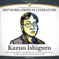 Kazuo Ishiguro Wins Nobel Prize For Literature