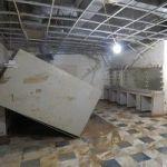 Weeks After Hurricane Harvey, Surveying The Damage To Houston's Wortham Theater Center