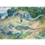 The Long, Surprising History Of Dinosaur Art