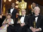Honorary Oscars Happen Without Much Of A Hint Of What's Splashed All Over The News