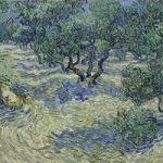 Dead Grasshopper Found Embedded In Van Gogh Painting