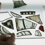 Trove Of Medieval Stained Glass Fragments Discovered At Westminster Abbey