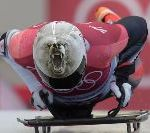 Did You See The Eerily Realistic Grizzly Bear Helmet In The Olympics? Here's The Artist
