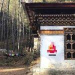 Street Artist Invader Plasters His Work On Historic Temples In Bhutan. Bad Idea.