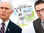 John Oliver's Gay Bunny Book Parodying Vice President's Rabbit Book Tops Amazon Charts