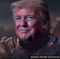 Thanos Creator Protests Trump Tweet Depicting Trump As...
