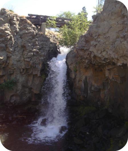 Bike Trail Falls