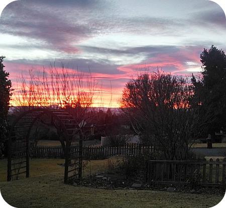 Sunset, January 2014