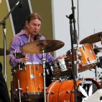Dan Brubeck at the drums