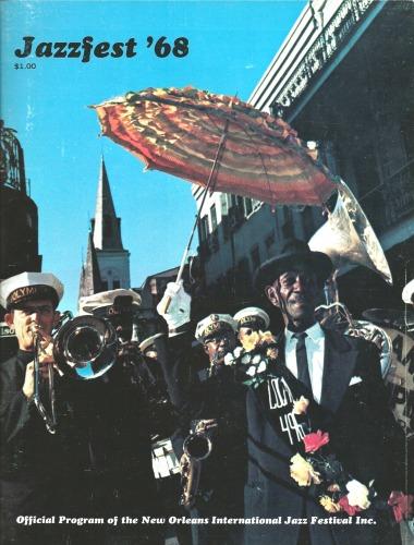 Jazzfest '68 program