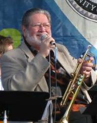 Bobby Shew at mic