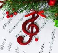 Christmas music symbol