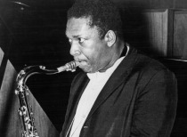 Coltrane facing left