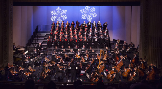 The Yakima Symphony Orchestra performs at The Capitol Theatre.