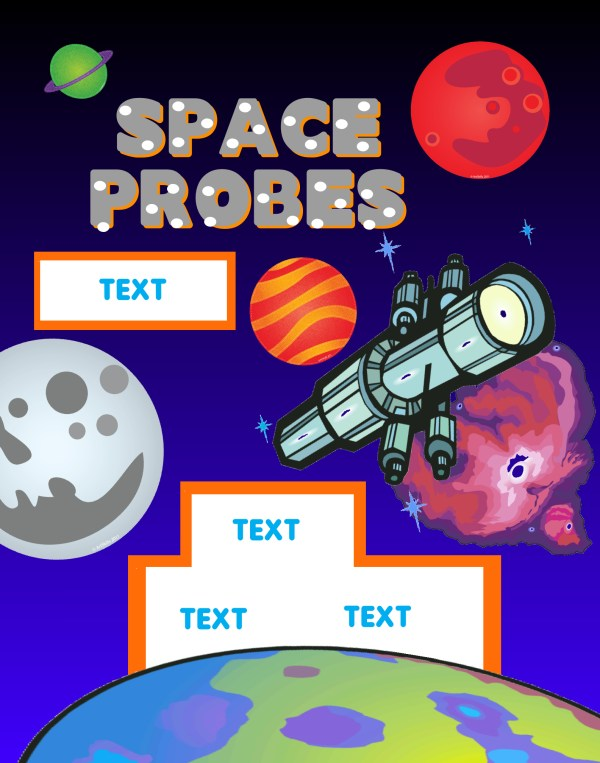 Make a Science Fair Poster Space Telescopes Poster