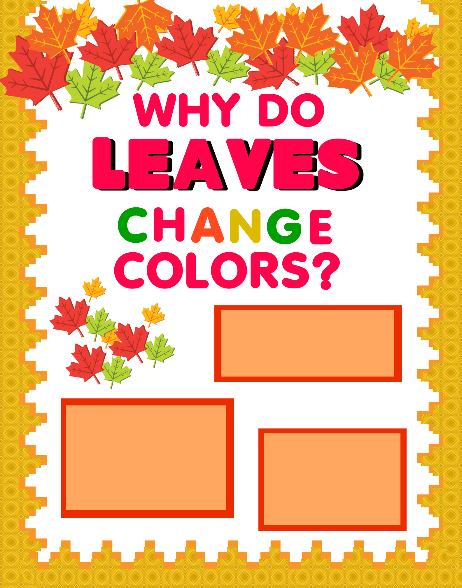 Make A Science Fair Project About Why Leaves Change Colors