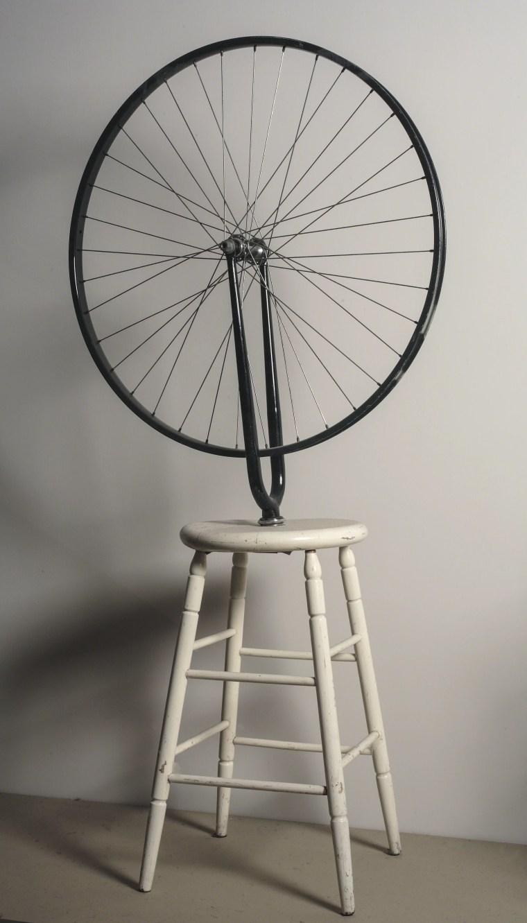 Marcel Duchamp, Roue de bicyclette, 1913