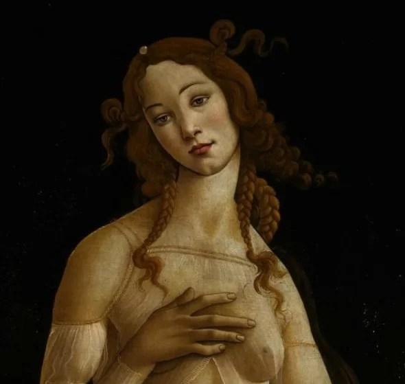 Sandro Botticelli Venere, post 1484-1490 circa tempera su tavola, cm 174 x 77 Torino, Galleria Sabauda, inv. 172