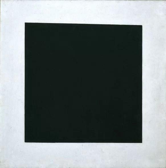 Kazimir Malevich, Quadrato nero, 1923 circa Olio su tela, 106 x 106 cm ©State Russian Museum, St. Petersburg