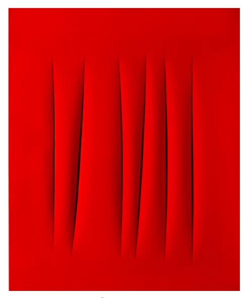 LUCIO FONTANA , Concetto Spaziale-Attese Estimate 2,000,000 — 3,000,000 GBP - Sotheby's evening sale March 7