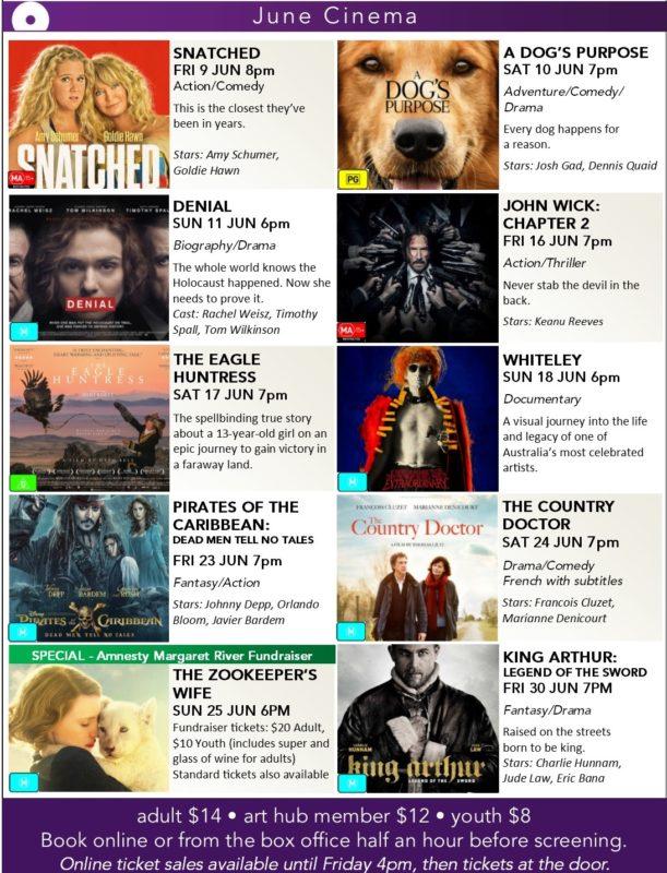 June cinema poster - Arts MR