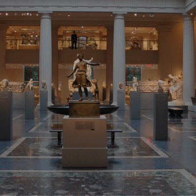 A broad selection of finest art in Met Museum