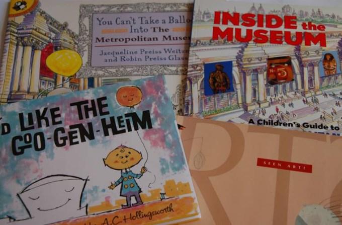 goo gen heim art books for kids