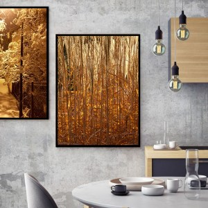Pack 2 Tableaux d'art Gold