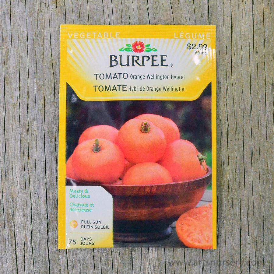 Orange Wellington Tomato Seeds Burpee Arts Nursery Ltd