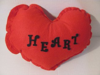 This heart-shaped pillow, available from Artsphoria Craft Boutique, is a perfect gift to express your appreciation of artists, friends and loved ones on any occasion. Custom wording personalizes your message for birthdays, anniversaries or any day of the week to let someone special know that you care!