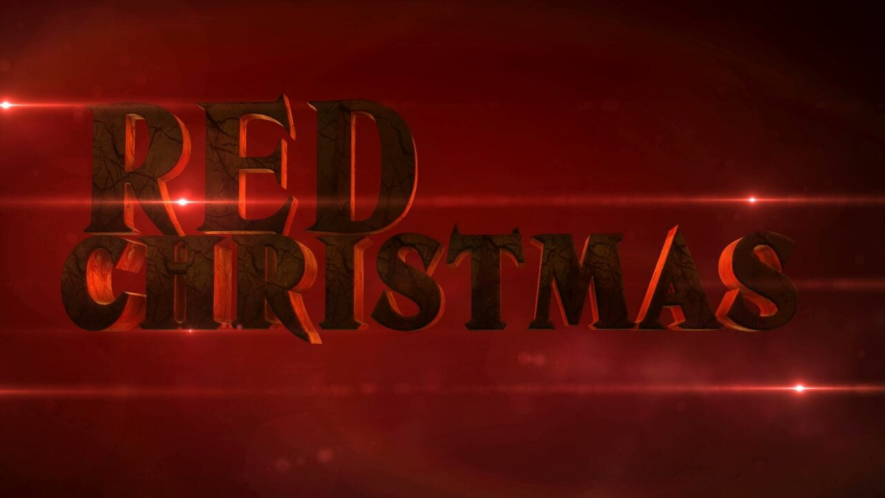 red xmas title