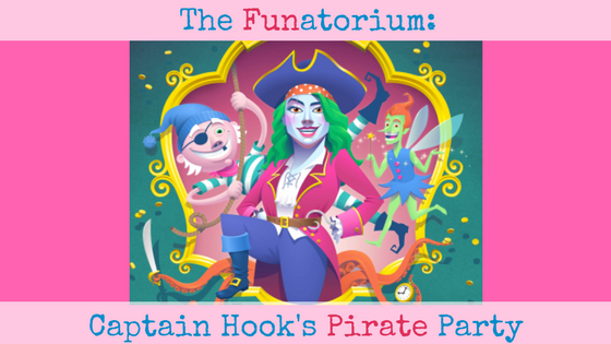 The Funatorium: Captain Hook's Pirate Party at the Sydney Opera House