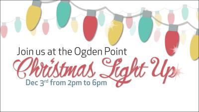Ogden Point Light Up