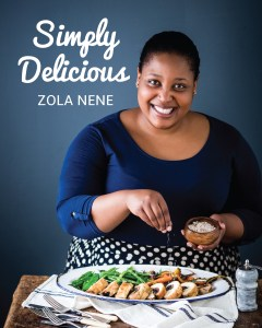 Zola Nene's new book 'Simply Delicious'