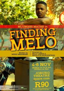 Finding Melo at Joburg Theatre