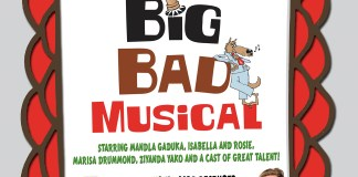 Big Bad Musical 2016 - Roodepoort Theatre - Poster