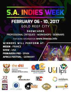 The 4th Annual SA Indies Music Week returns to Johannesburg