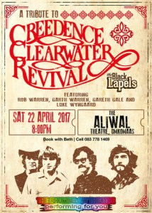 Black Lapels - Creedence Clearwater Revival Tribute - Poster