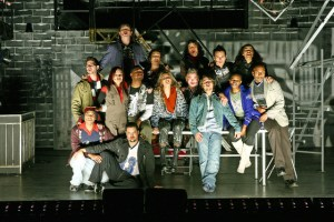 RENT - the cast from the 2007 production.